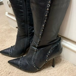 Sassy boots. Real leather.